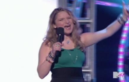 Singing on MTV