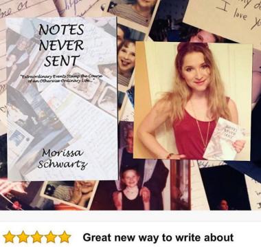 "VIP Ink Publishing published ""Notes Never Sent."""