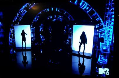 Morissa singing on MTV