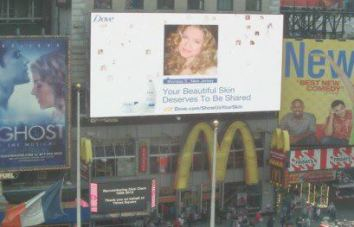 Morissa has appeared on 2 Times Square billboards in Time Square.