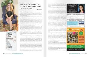 CM Magazine called Morissa The Voice of Generation Z.