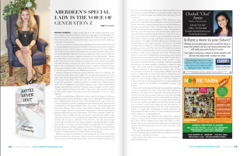 CM Magazine called Morissa The Voice of Generation Z.