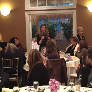 Speaking at Professional Women's Event